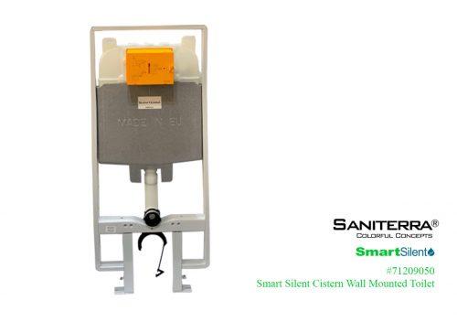 71209050-Smart Silent Concealed Cistern WM Toilet