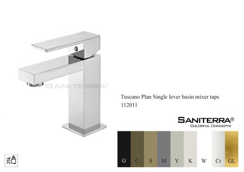 112011 Single Lever Basin Mixer PLAN