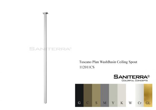 112011CS WashBasin Ceiling Spout PLAN