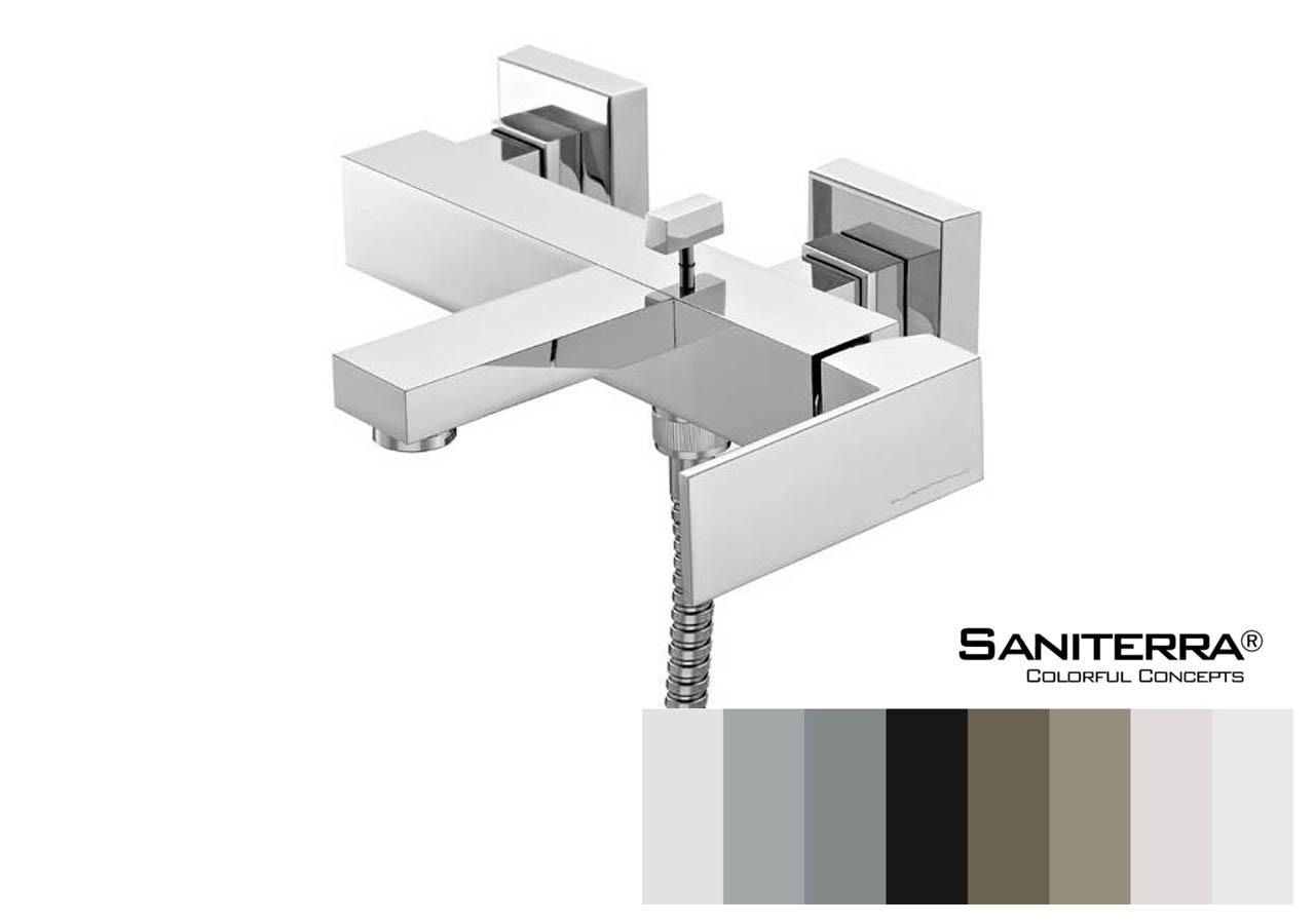 132011 Bath Mixer PLAN 256 mm