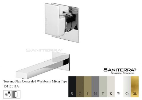 15112011A Concealed Washbasin Mixer PLAN