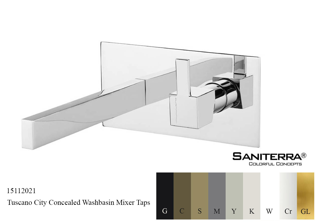 15112021 Concealed Washbasin Mixer CITY