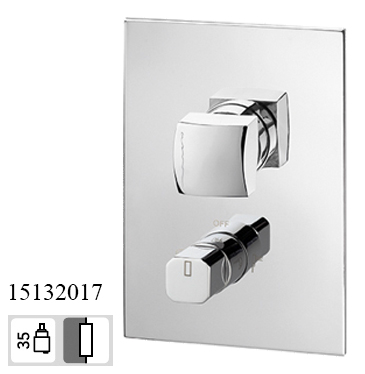 15132017 Concealed 2 way out Bath Mixer KING