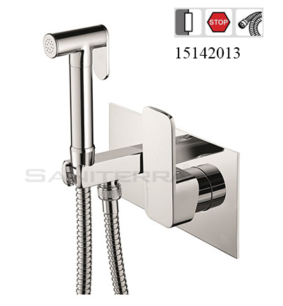 15142013 Concealed Bidet Mixer with Shut-Off MOON
