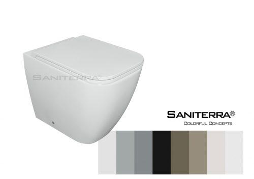232011 Floor Standing Toilet Tuscano 55*36 cm