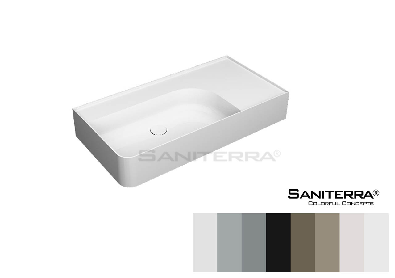 322057 Furniture Washbasin Single Hole Tuscano 950 mm