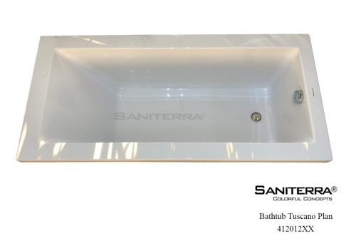 412012XX Sanitary Acrylic Bathtub PLAN